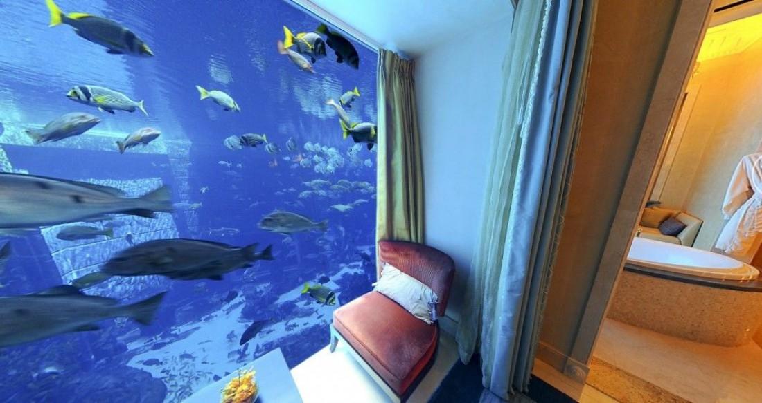 Atlantis The Palm — один из самых грандиозных отелей столицы ОАЭ