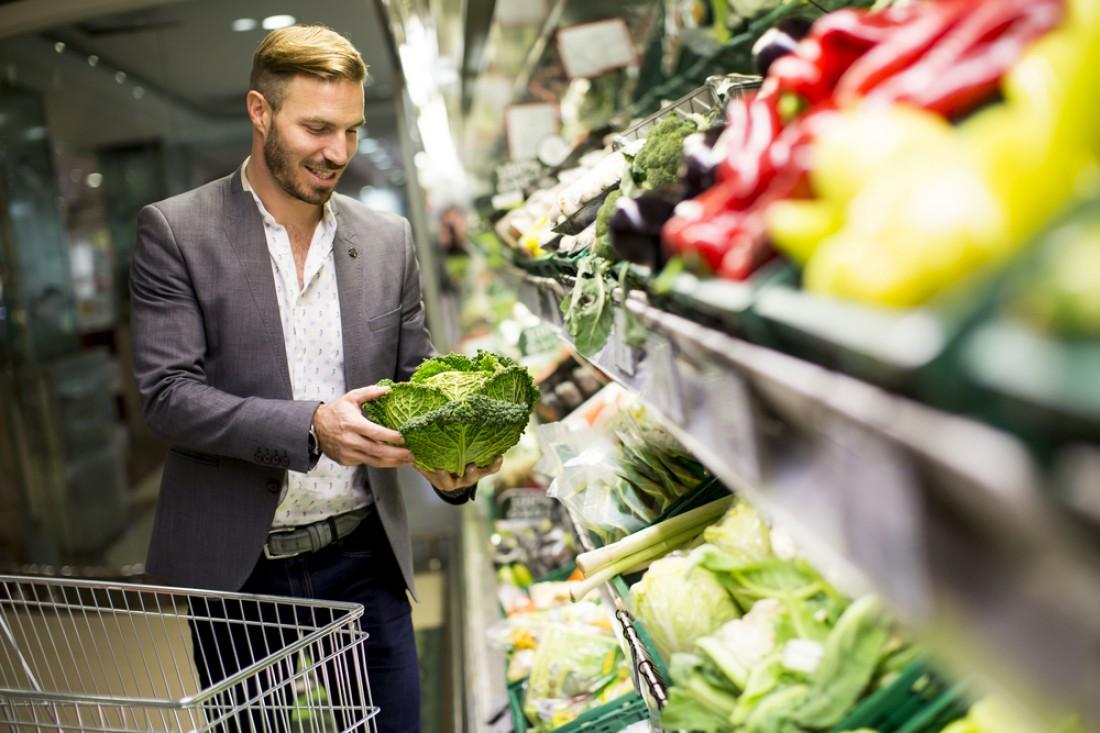 Обрати внимание: свежие овощи стоят дешевле кондитерки и мяса