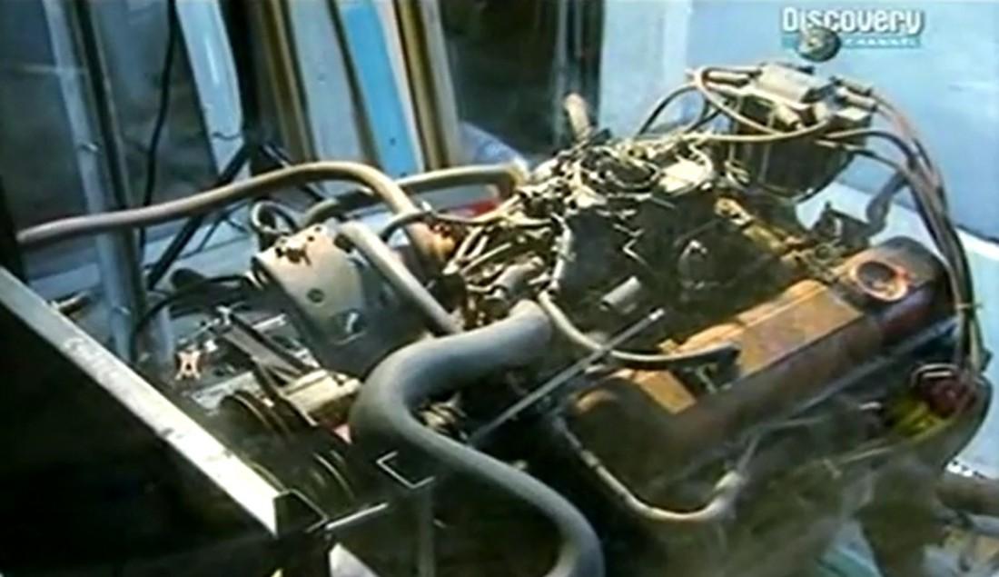 Несчастный двигатель, который мучили