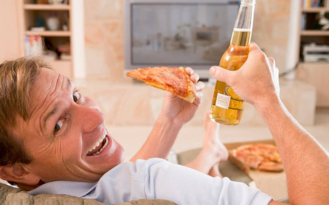 Как быстро похудеть — заедай пиво пиццой с канолой