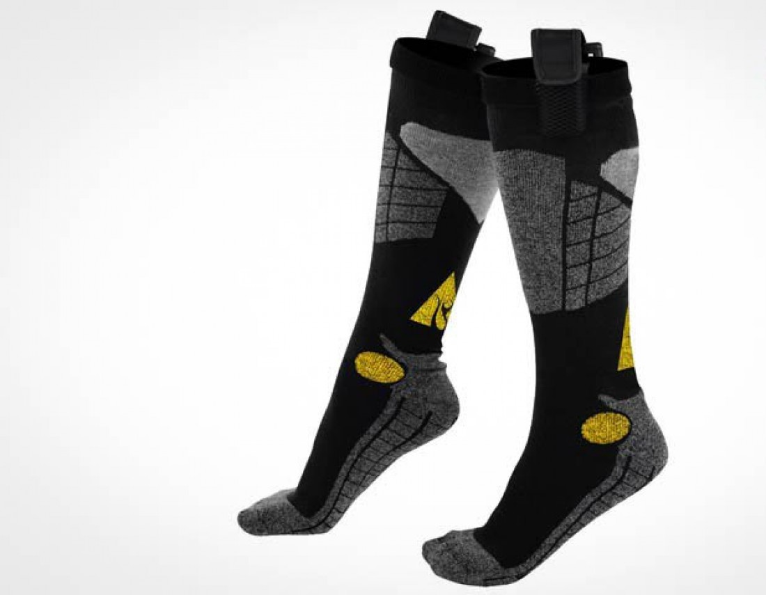 AlphaHeat Heated Socks — носки с электрическим подогревом
