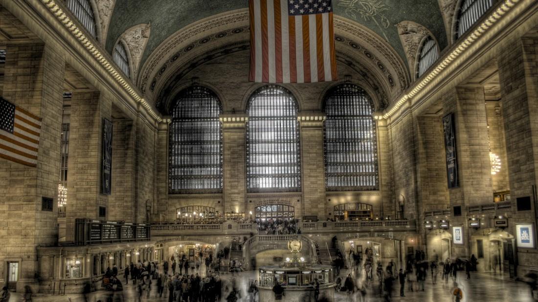 Центральный вокзал Нью-Йорка. Тоже не лишен душка радиации