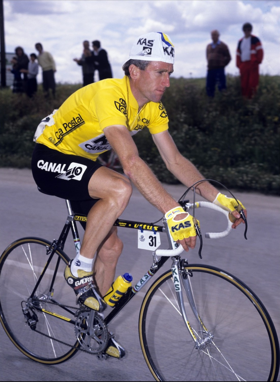 Шон Келли лидирует на Vuelta 1987