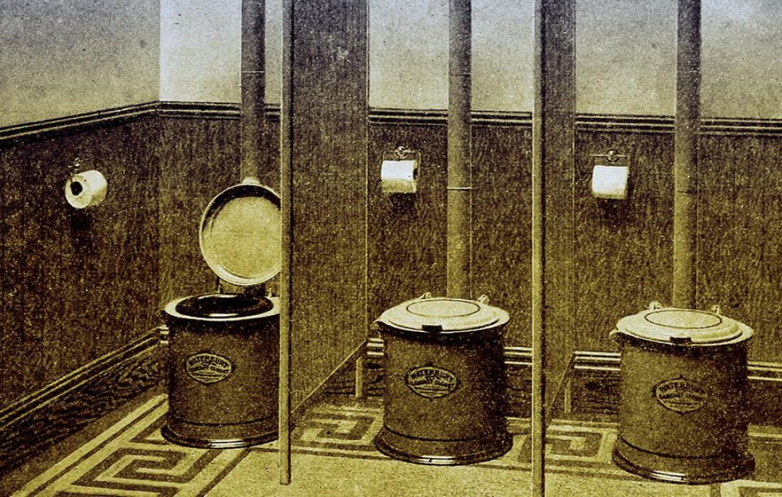 Туалет. Британцы на нем торчат более 3-х часов в неделю