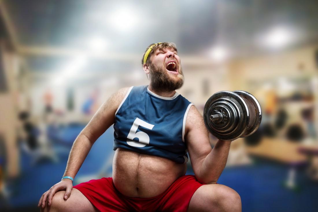 Толстый - не означает слабый
