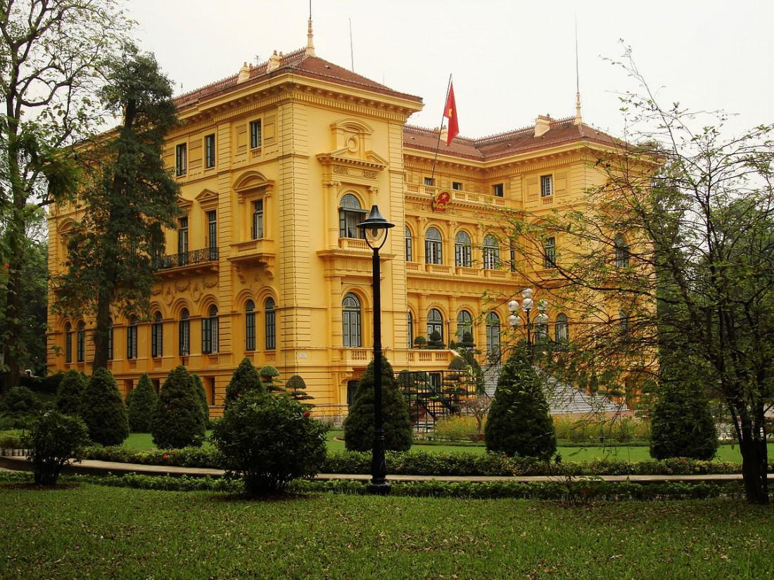 Президентский дворец в Ханое