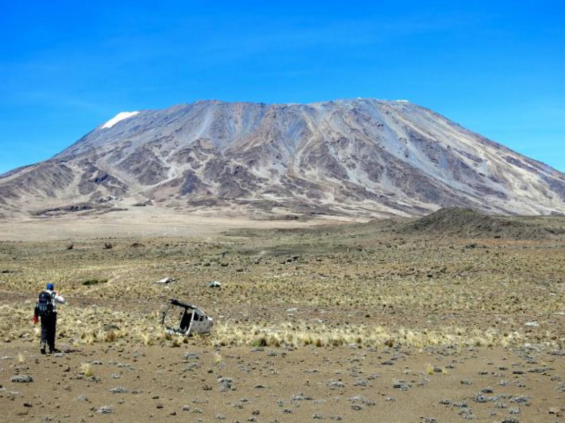 Гора Килиманджаро считается высочайшим и активным стратовулканом Африки
