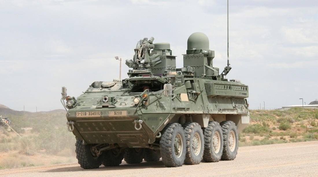Американская бронированная машина Stryker