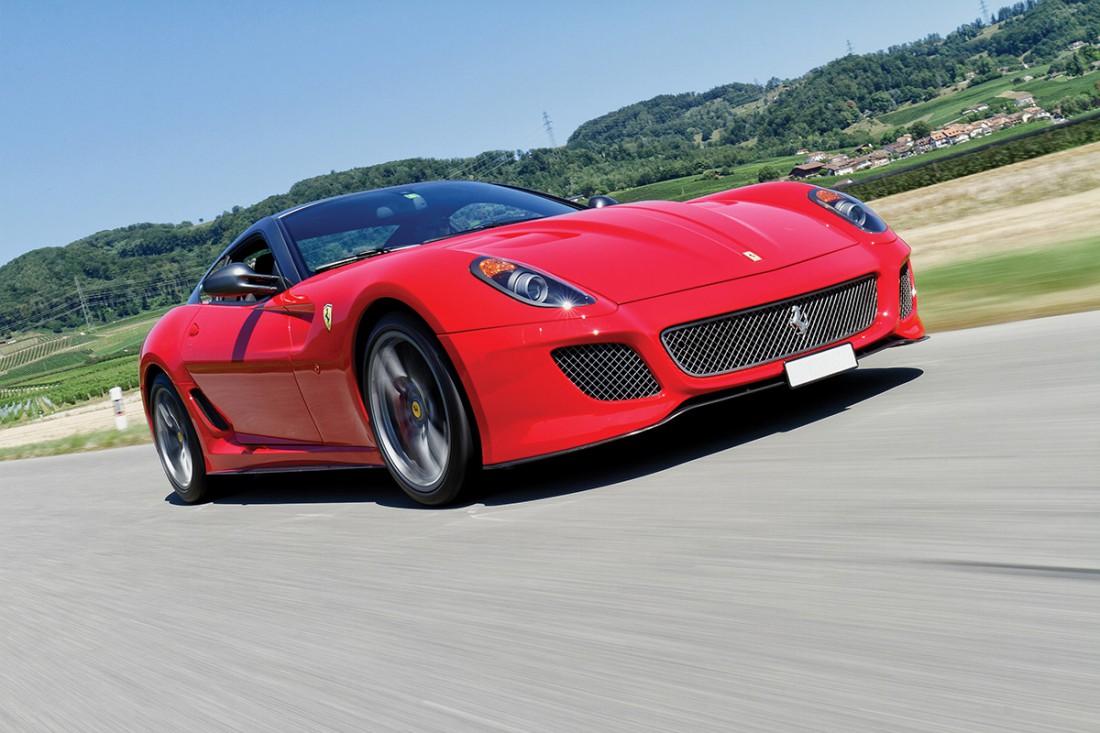 2012 Ferrari 599 GTO Rosso Corsa