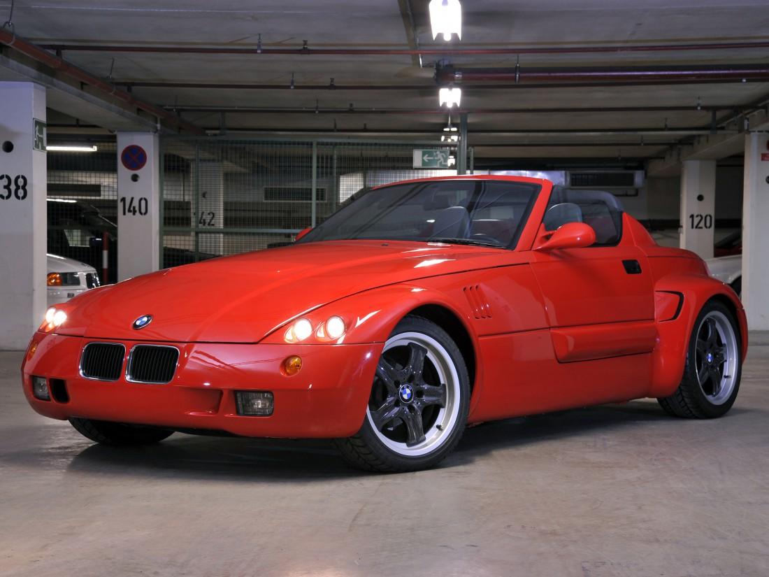 BMW Ur-Roadster (1990) — дебют дизайнеров компании BMW