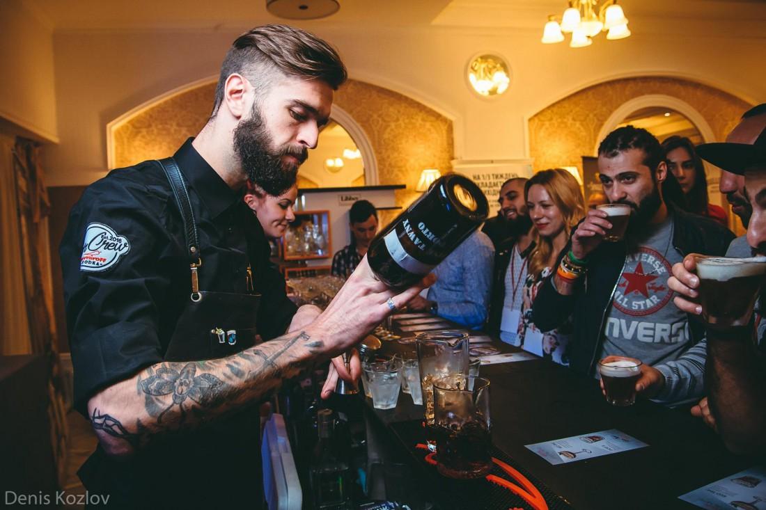 Лидер Nemiroff Bar Crew — Олег Якобенко