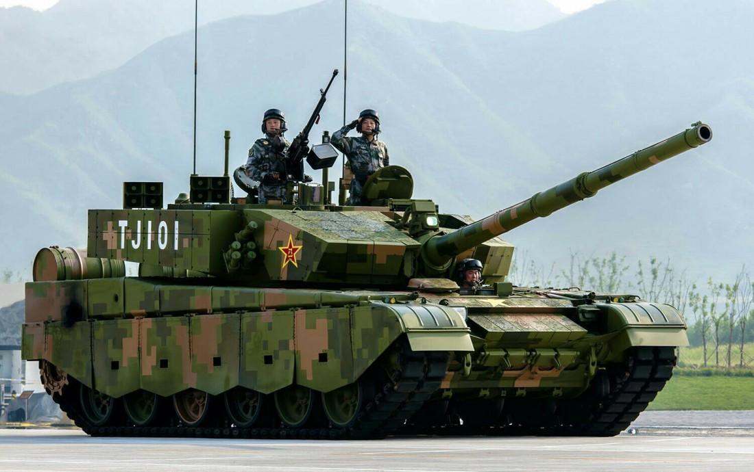 Т-99A2 — современный китайский основной боевой танк