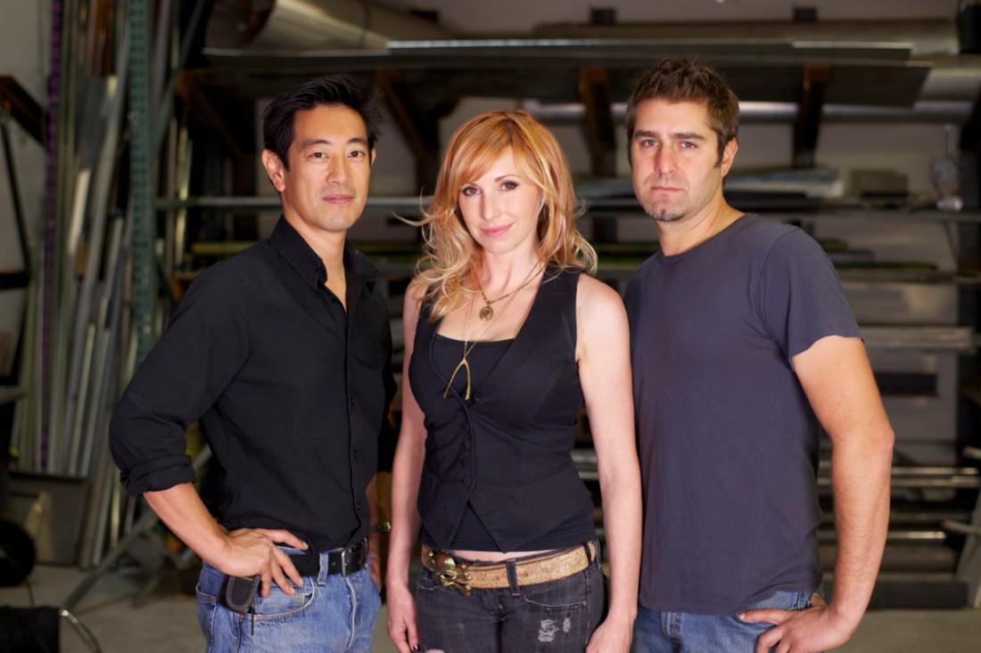 Грант (слева), Кэри (посредине) и Тори
