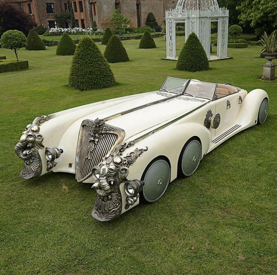Nautilus Car — 6-колеска, построенная для