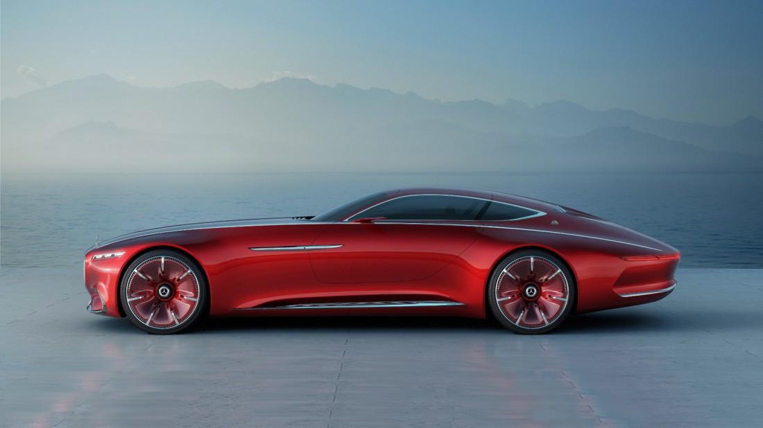 По длине Vision Mercedes-Maybach 6 уделывает даже Rolls-Royce Phantom