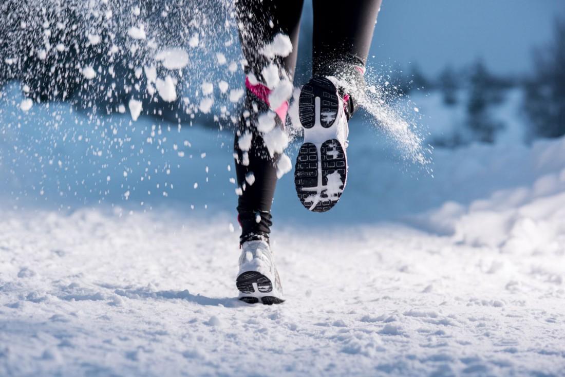 Главное в беге зимой — не дать ногам замерзнуть и намокнуть