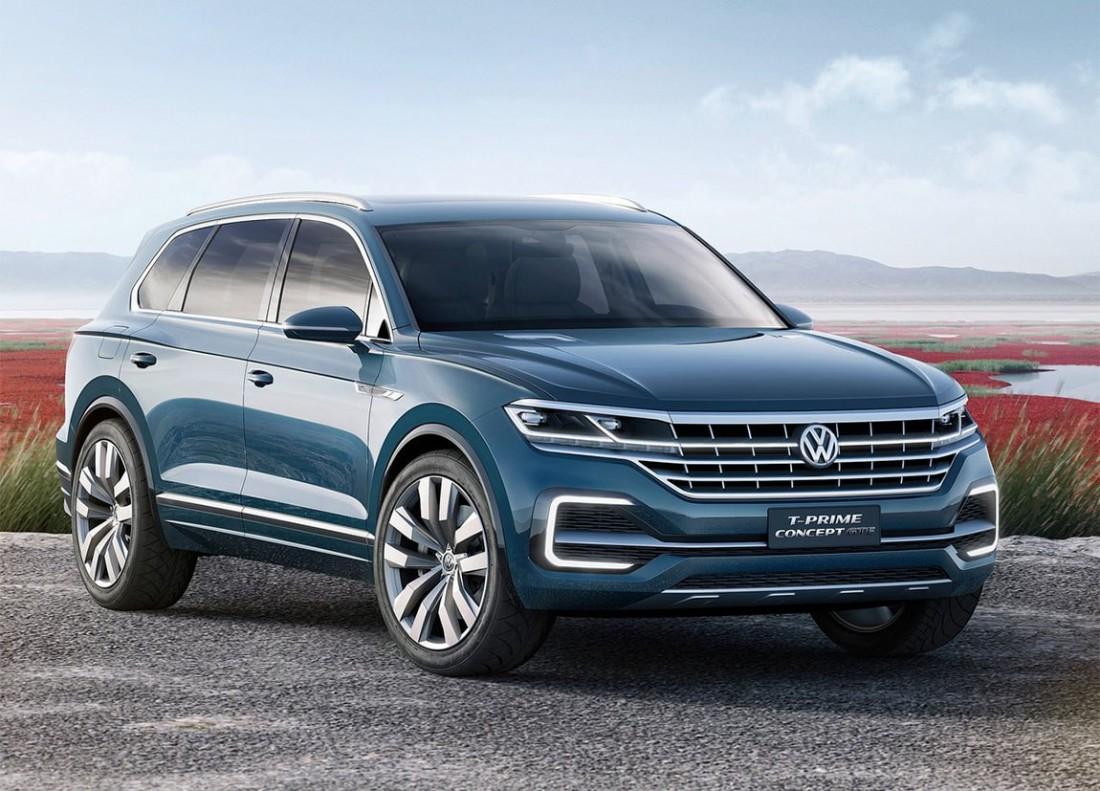 Новый Volkswagen Touareg 2018 или старый T-Prime GTE Concept
