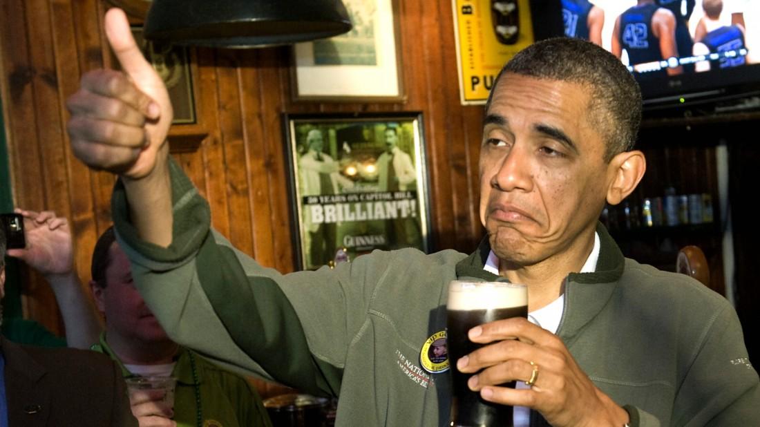 Любишь пиво? Обама одобряет