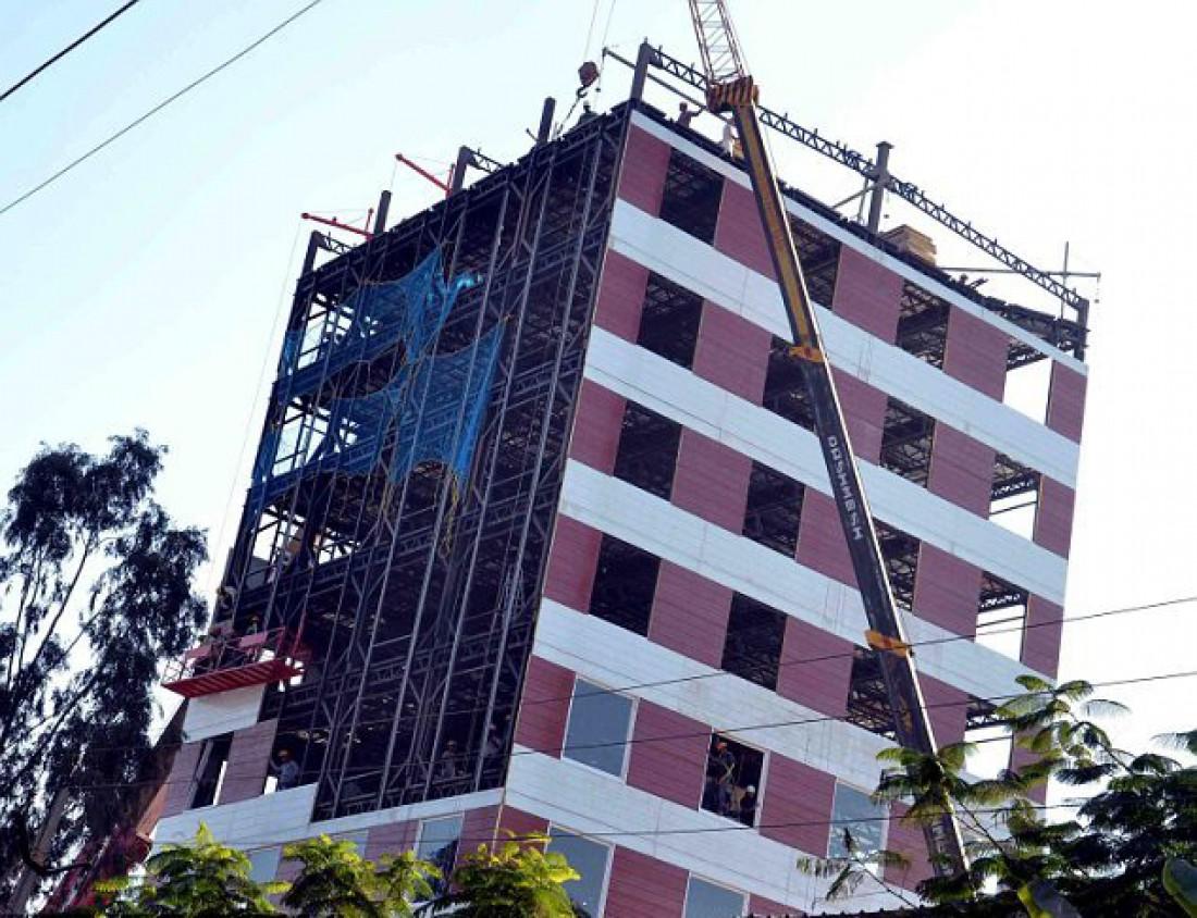 10-этажка INSTACON, построенная за 2 суток