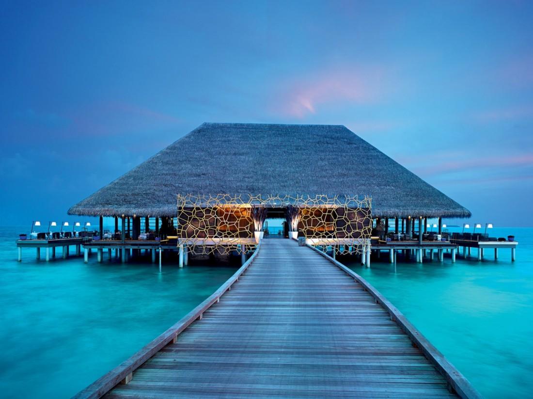 Мальдивы. Райское наслаждение. Для полноты картины не хватает лишь Bounty