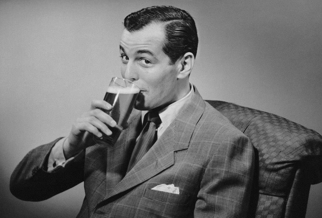 Пиво мужику никогда не испортит настроение