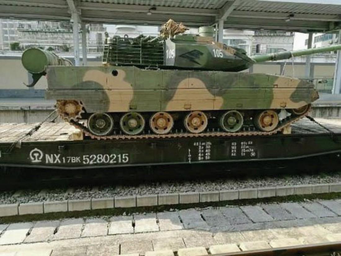Новейший секретный танк Китая