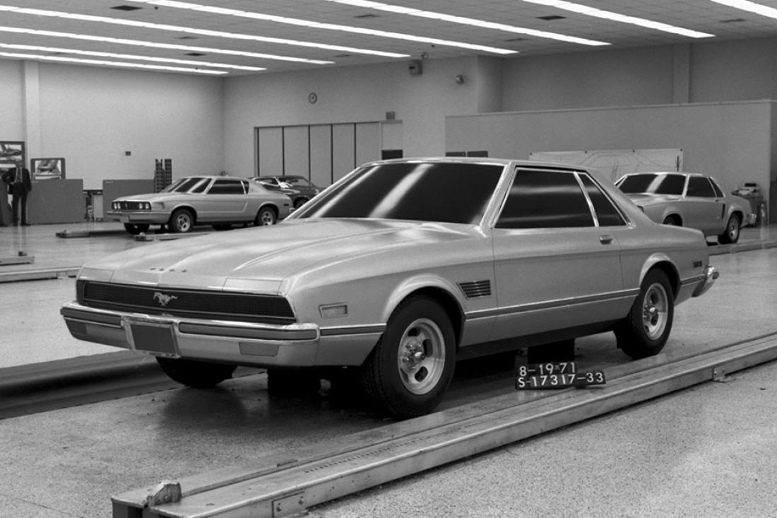 Один из макетов Ford Mustang второго поколения