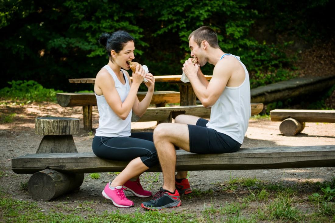 Правильное питание — залог успеха во время длительной тренировки