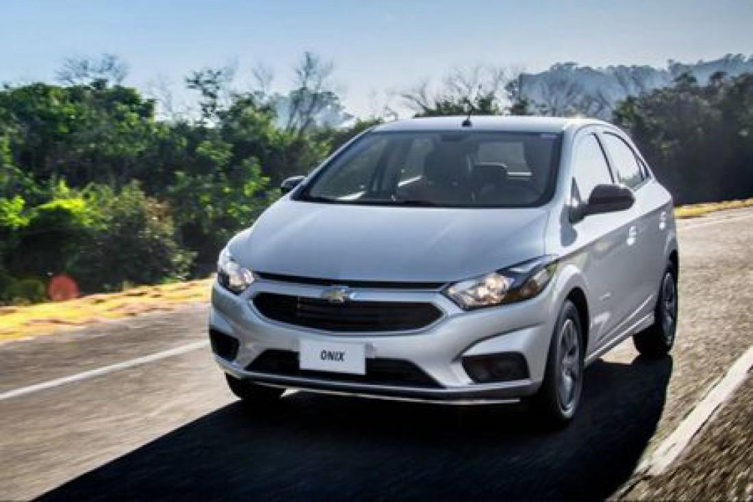 Бразилия - Chevrolet Onix (Продано 210 451 авто)