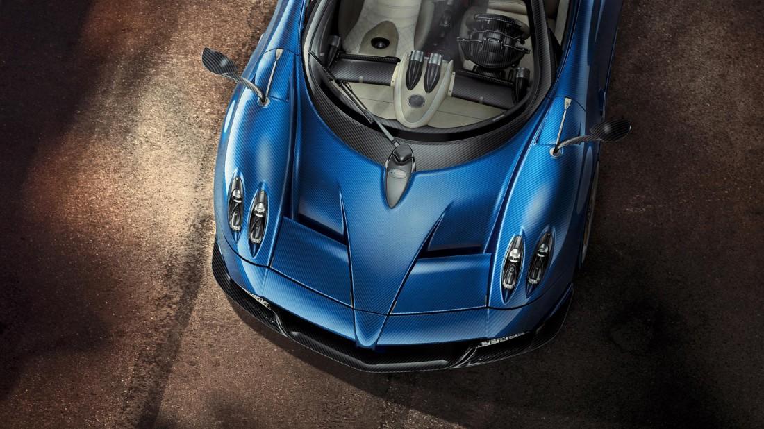 Силовая установка Pagani Huayra — 6-литровый 764-сильный V12 твин-турбо