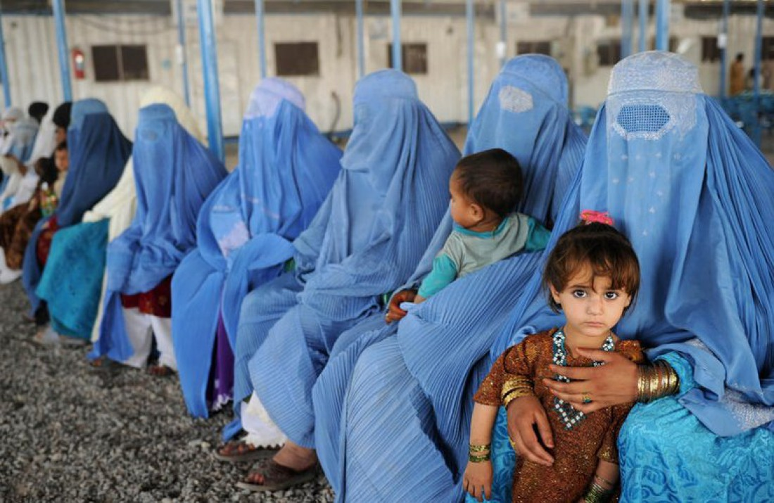 Девочек Афганистана очень рано отдают в жены
