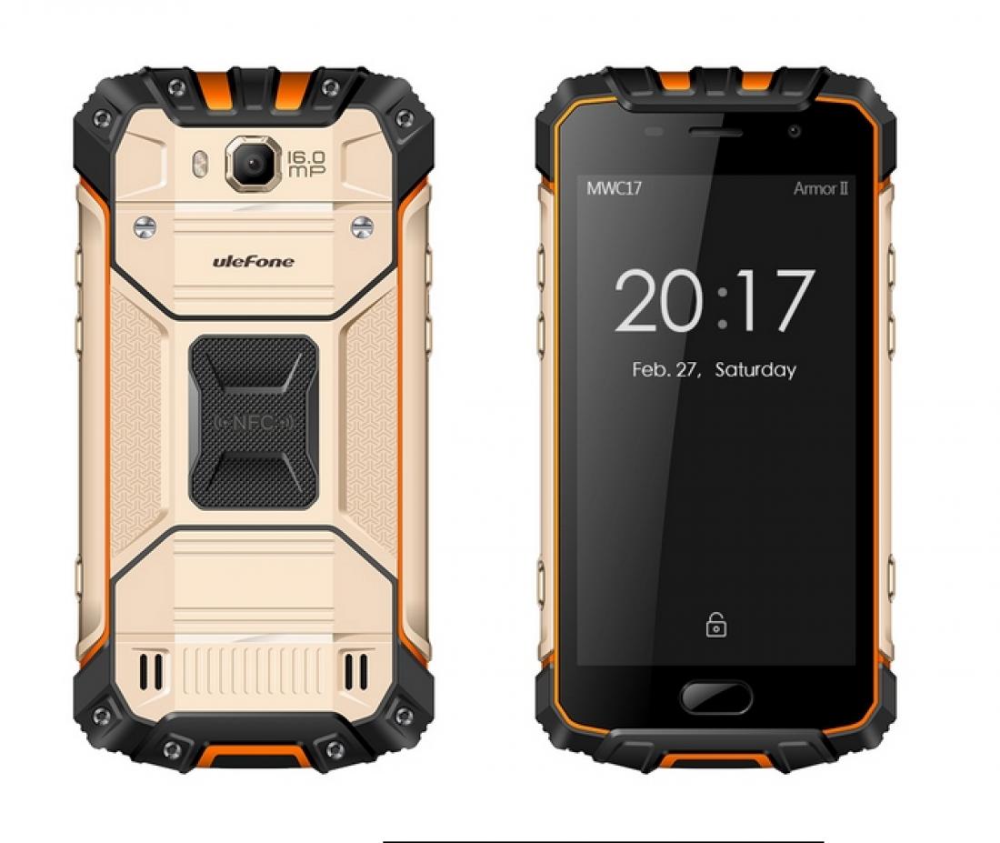 Ulefone Armor 2 будет одним изпервых телефонов наSoC Helio P25