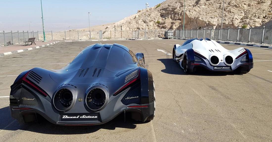 Максимальная скорость Devel Sixteen — 560 км / час
