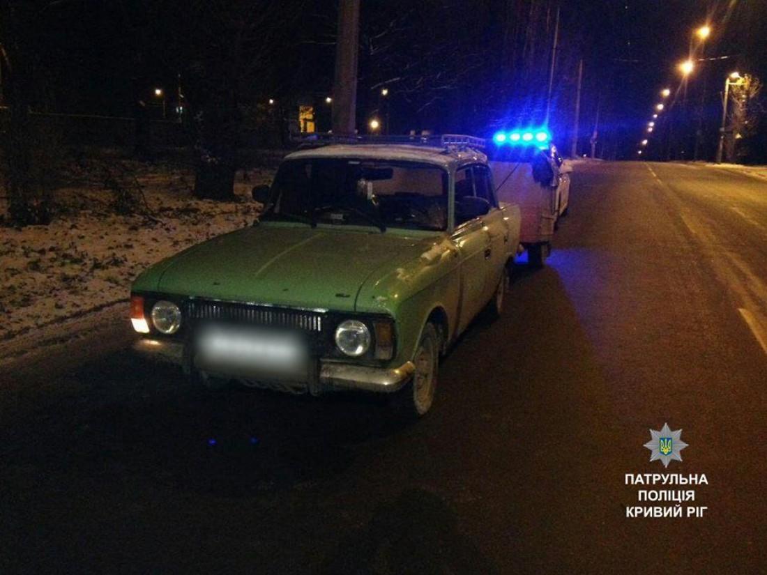 Москвич водителя-неадеквата
