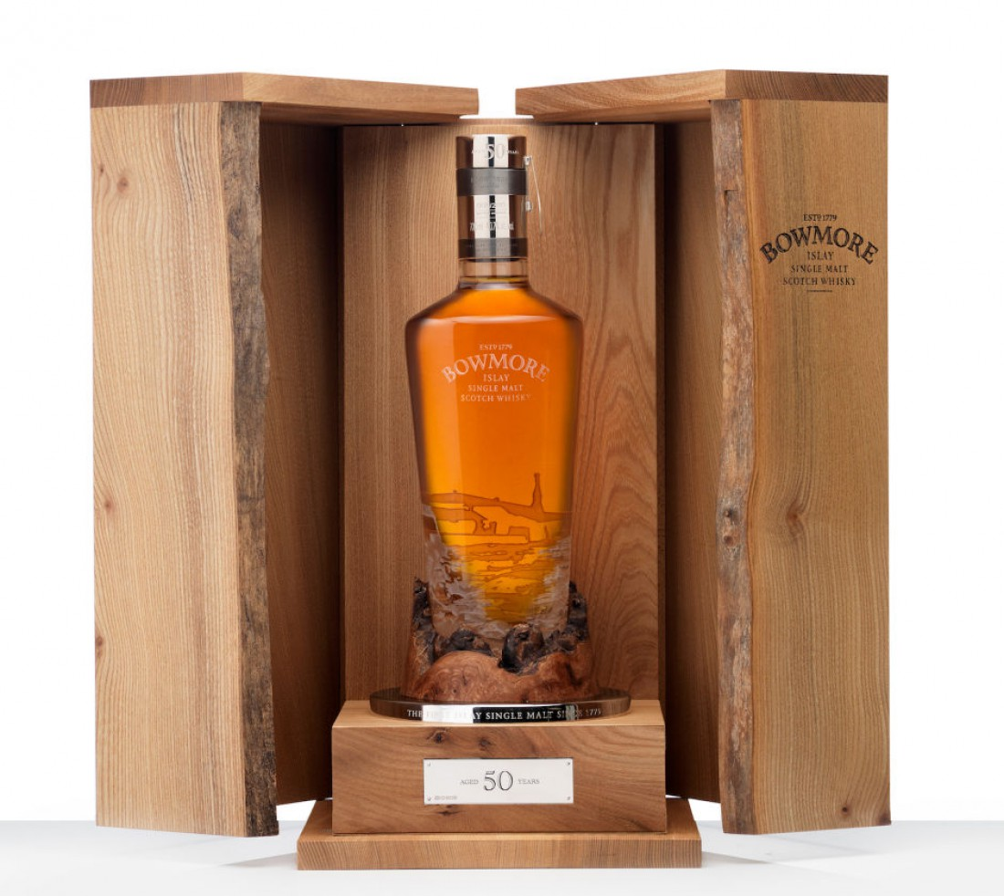 Bowmore 50 Years Old 1961 Vintage — $23,000