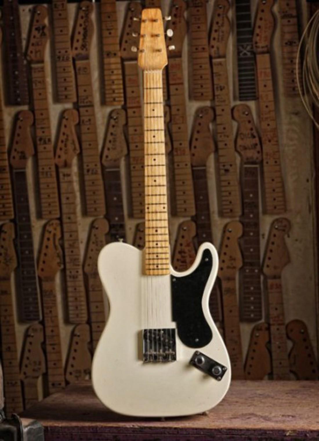 Fender Broadcaster prototype 1949 — $375 тысяч