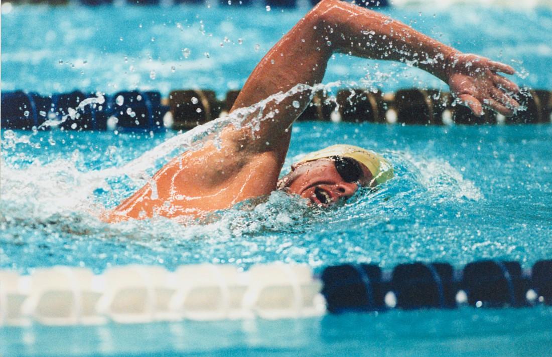 Плавание отлично развивает все группы мышц