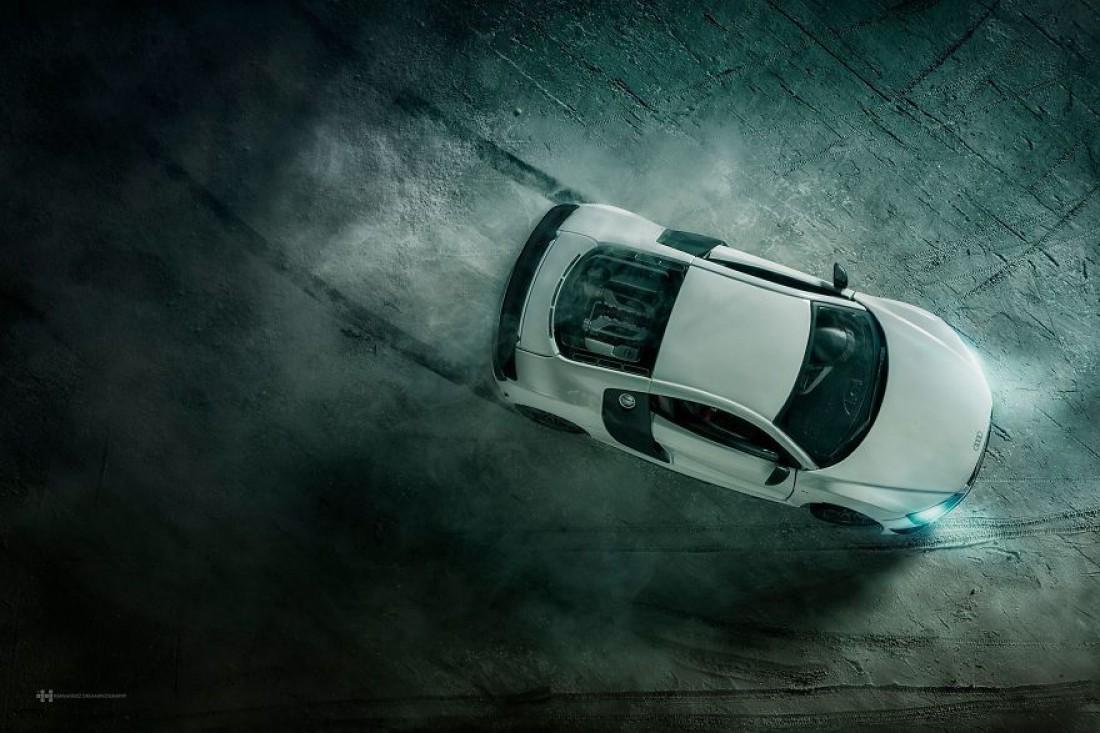 Как создавалась реклама Audi R8