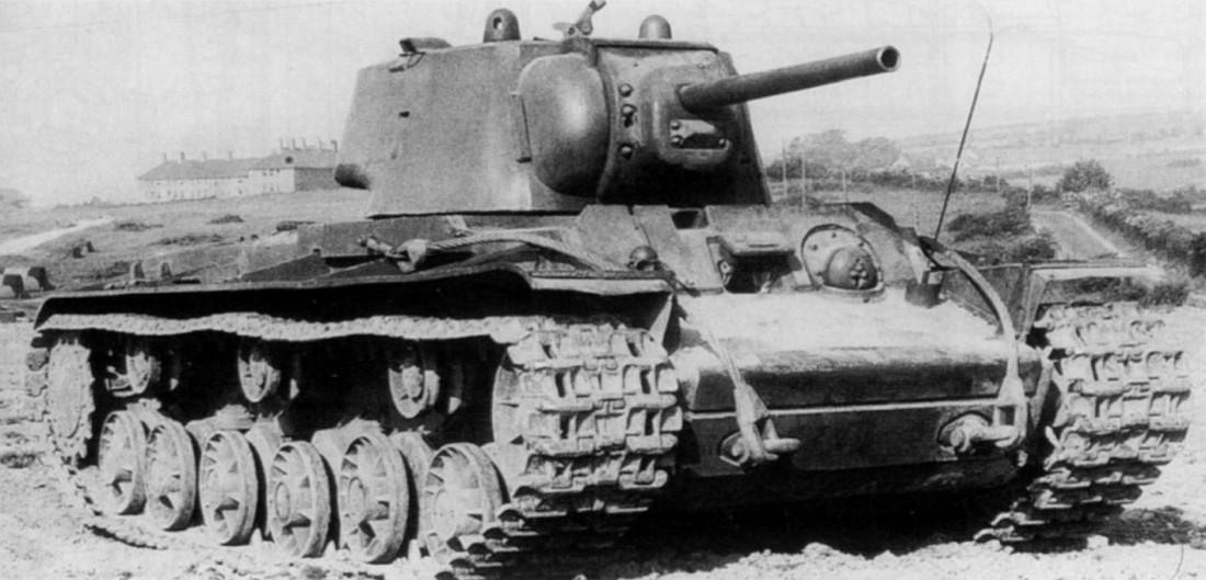 КВ-1 — танк прорыва или для сдерживания врага на определенном направлении