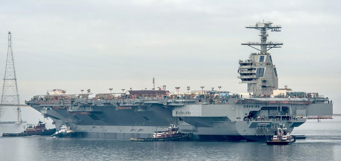 USS Gerald R. Ford (CVN-78) — самый дорогой авианосец в мире