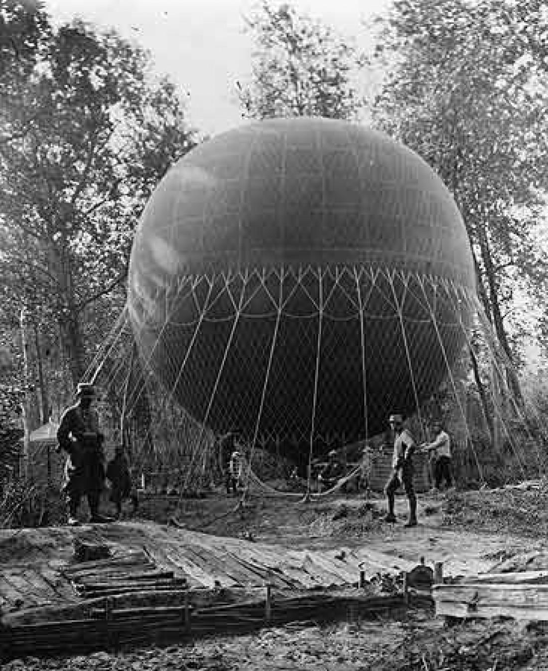 Воздушный шар-оружие E77