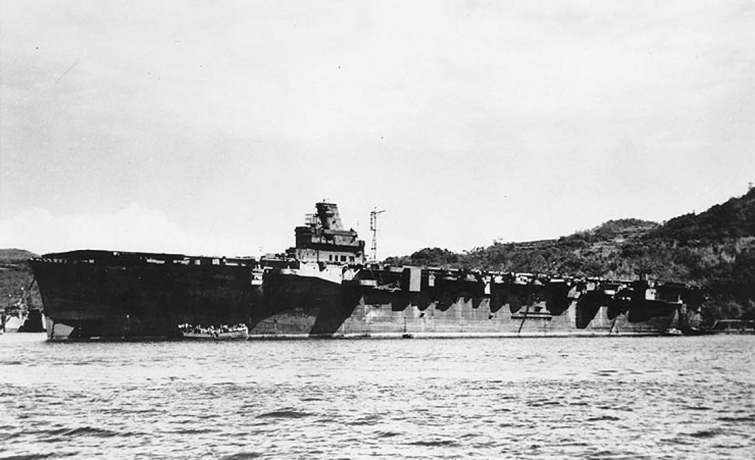 Мощь Дзюнъе-мару не спасла корабль от британских торпед