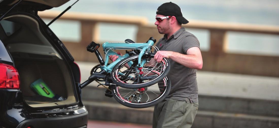 Складной велосипед. Бросил в багажник и погнал