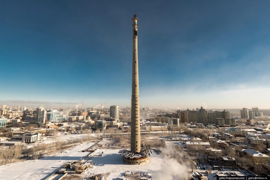 Екатеринбургская телевизионная башня, Россия. Одно из самых высоких заброшенных зданий мира