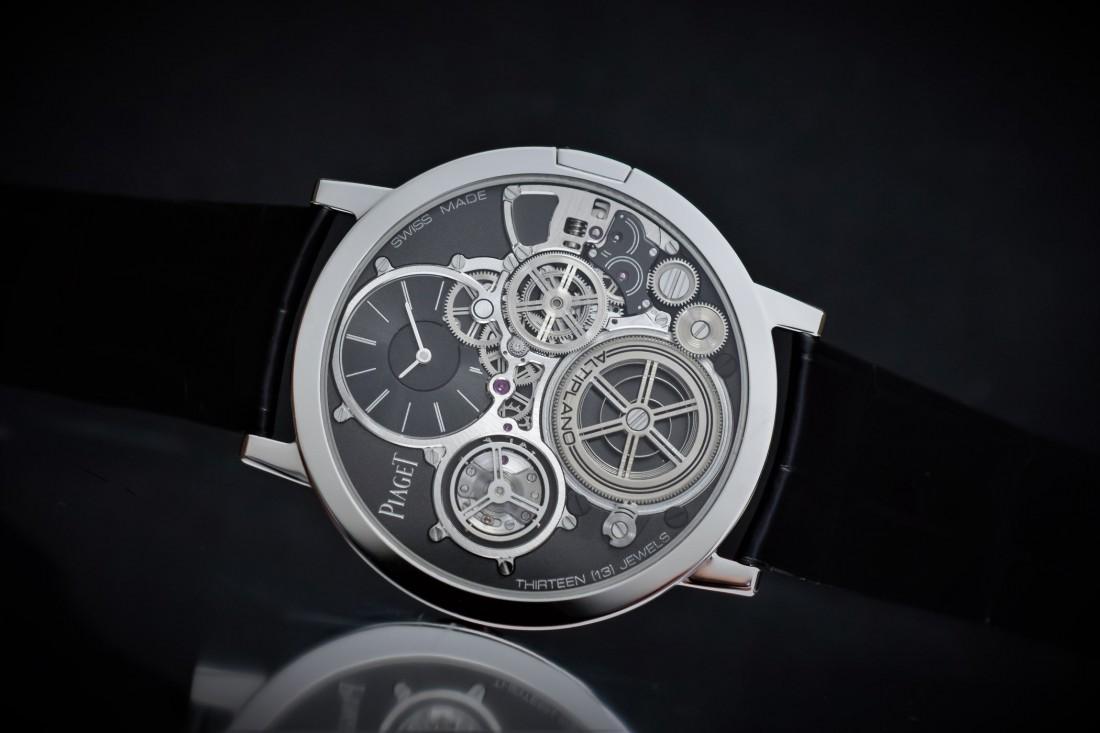 Запас хода Piaget Altiplano Ultimate Concept — до 44 часов