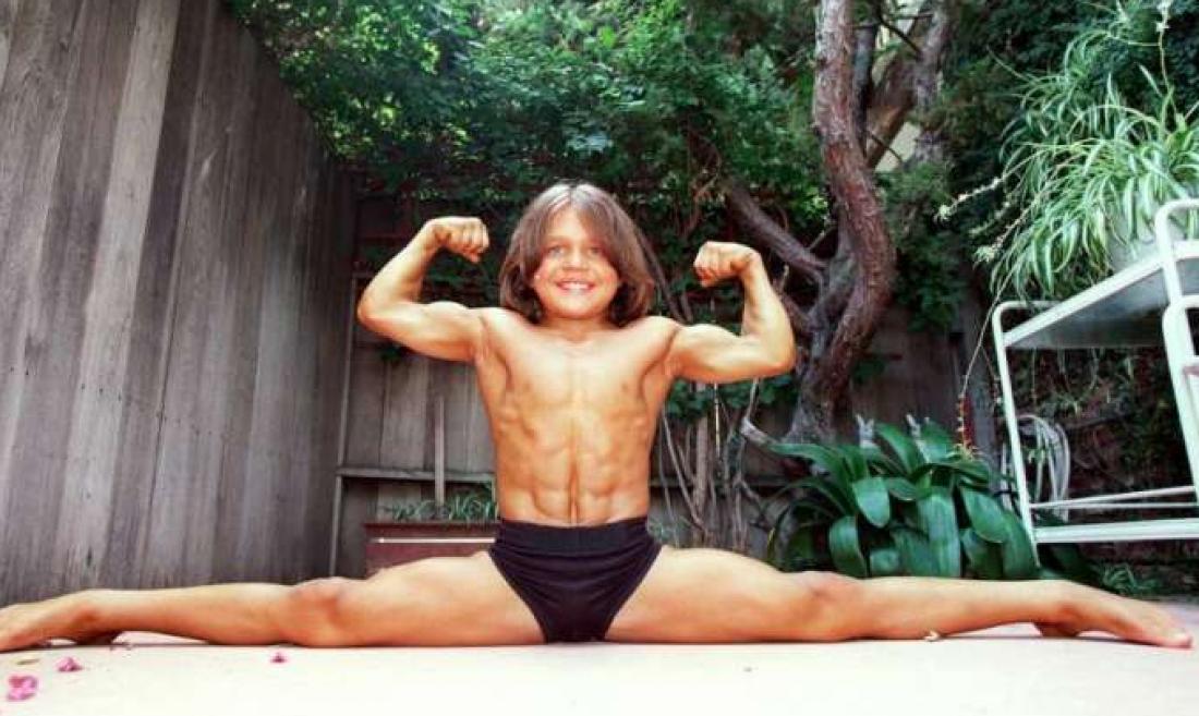 Ричард Сандрак. Самый сильный мальчик на планете
