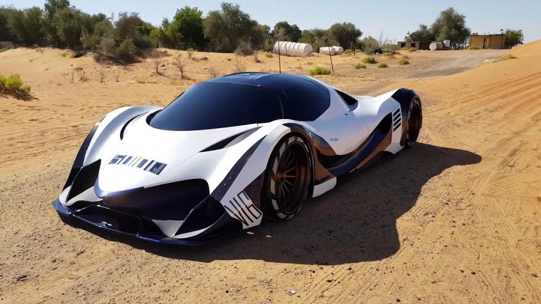 Devel Sixteen — гиперкар, рядом с которым не стоит даже Bugatti Chiron