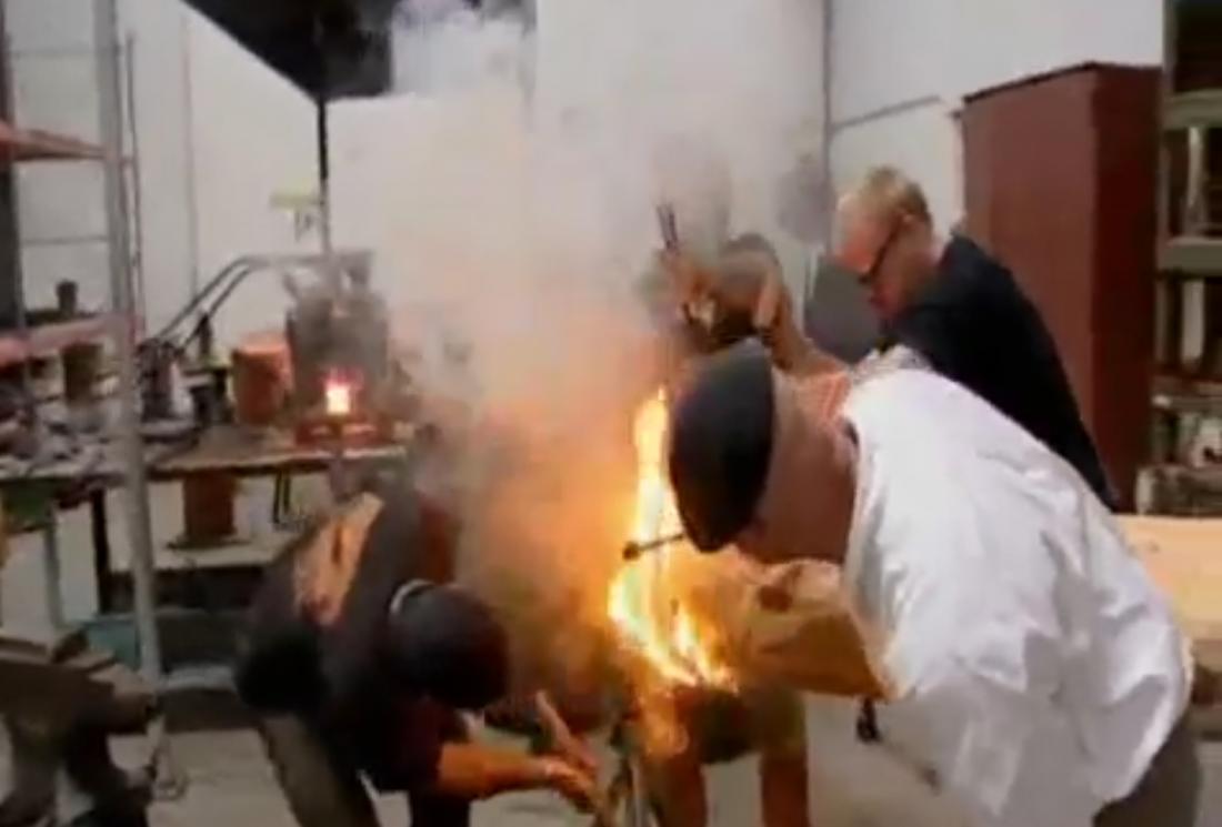 Разрушители мифов строили пушку средневековыми инструментами