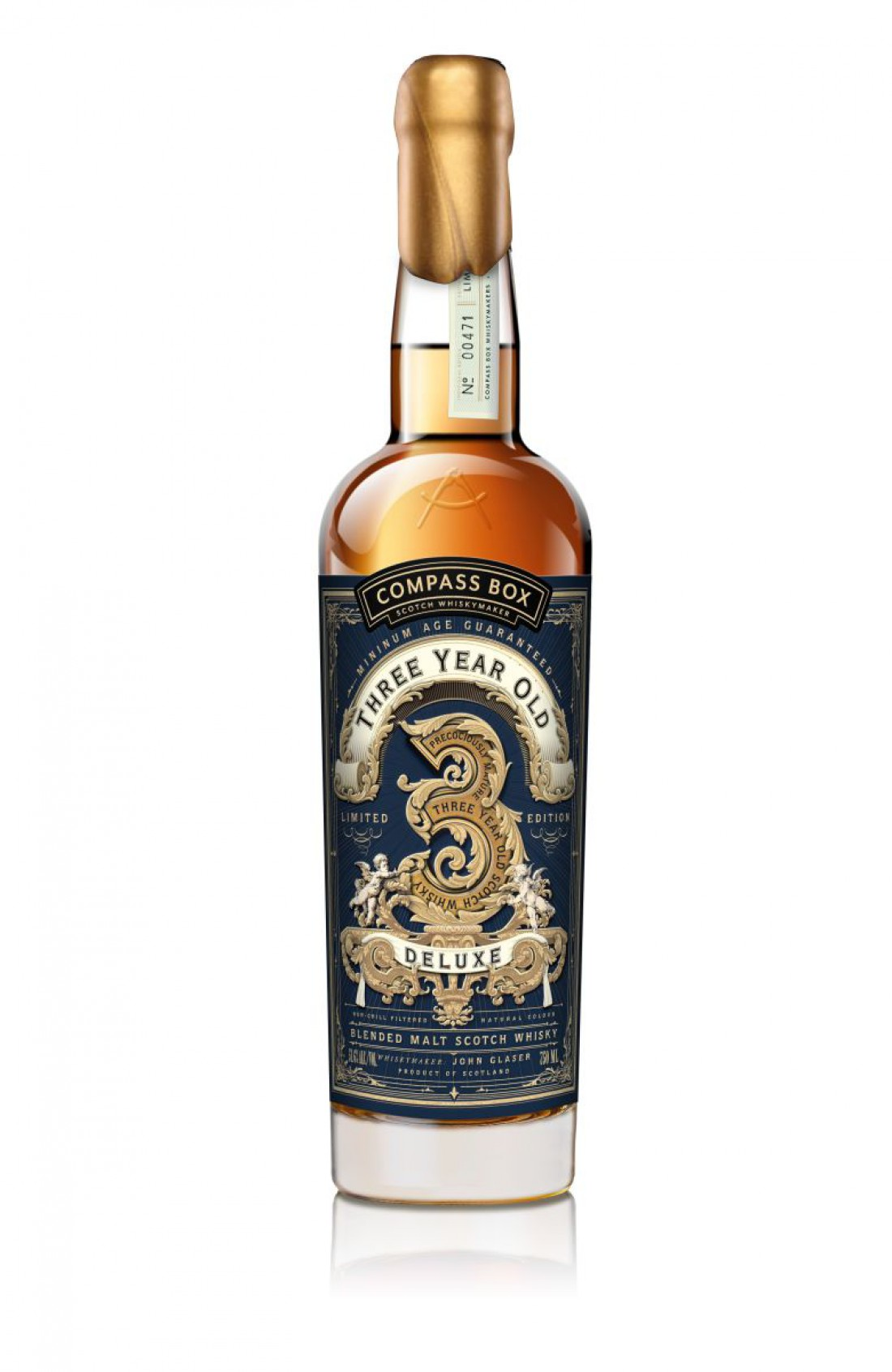 Compass Box Three Year Old Deluxe — $300
