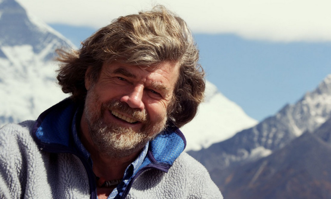Райнхольд Месснер — итальянский альпинист из немецкоговорящей автономной провинции Южного Тироля, Италия, первым покоривший все 14